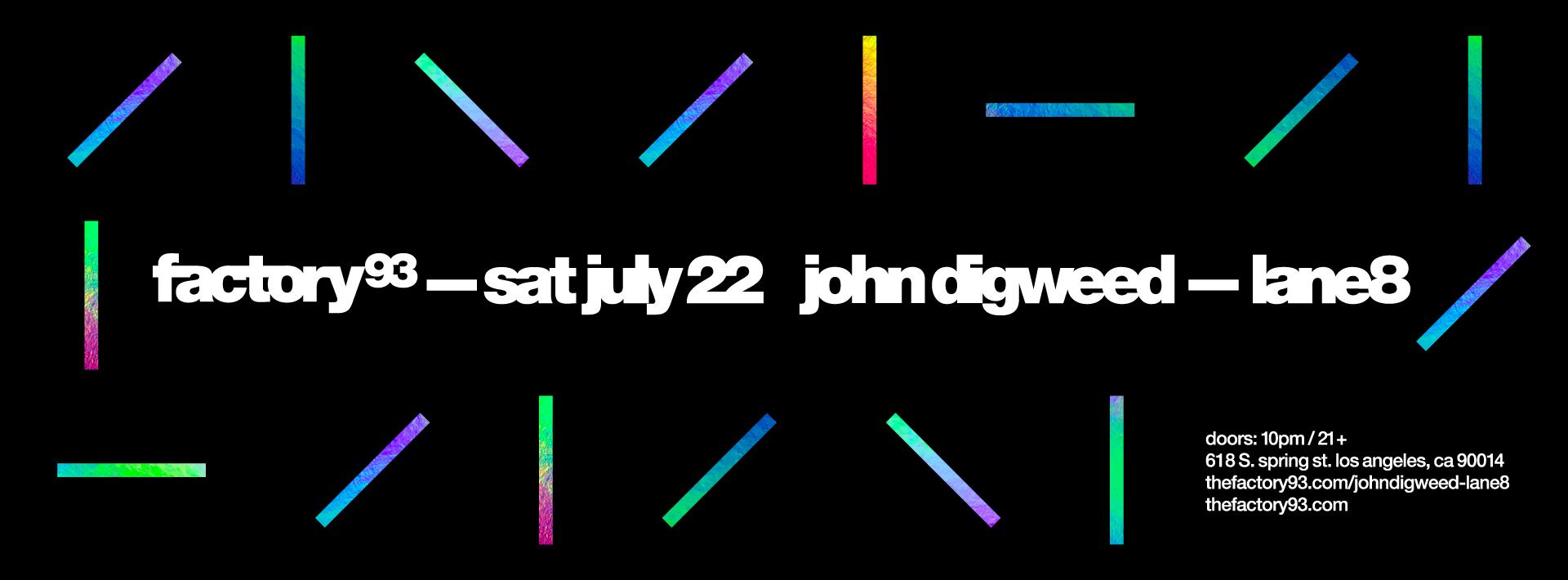 John Digweed & Lane 8
