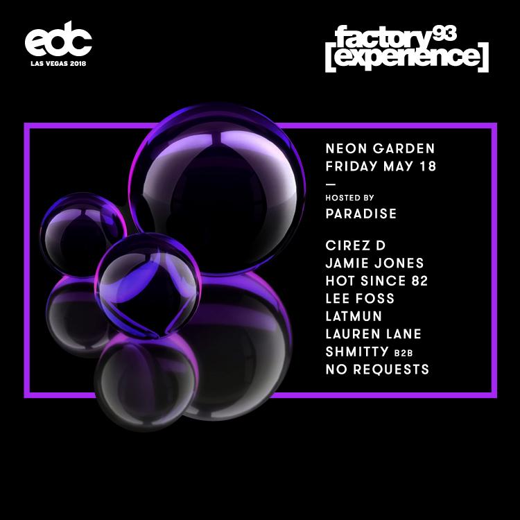 EDC Las Vegas 2018 <br />(Night 1)