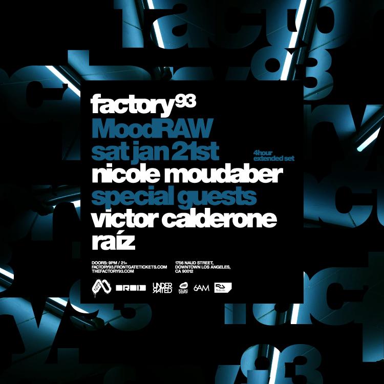 Nicole Moudaber presents MoodRaw