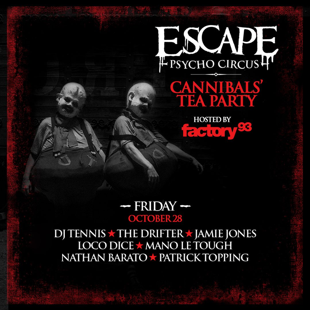 Escape Psycho Circus 2016 <br />(Night 1)