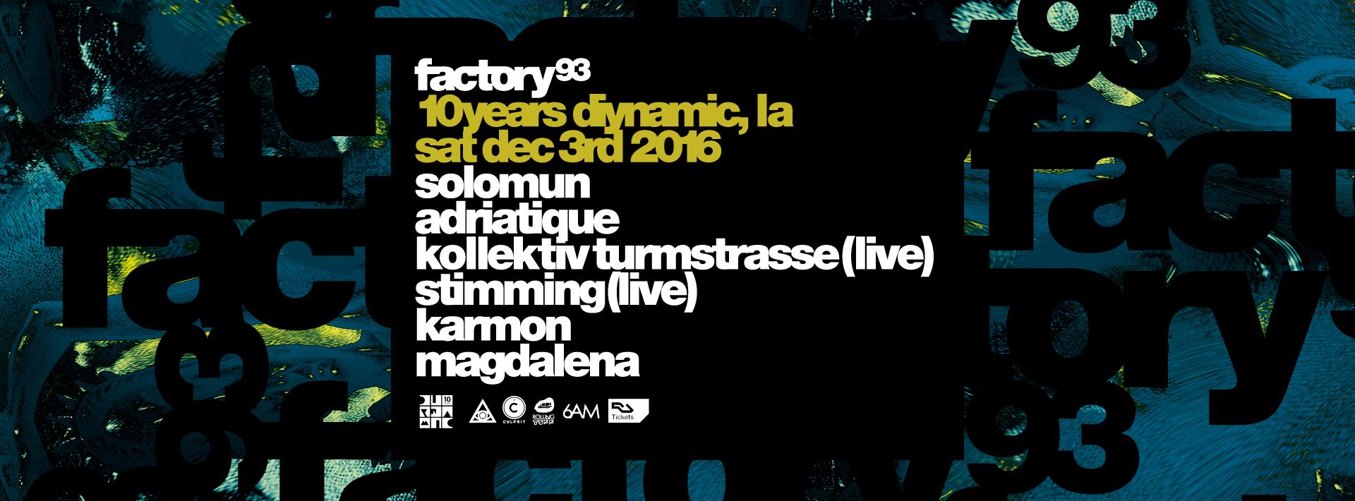 Diynamic 10 Year Anniversary