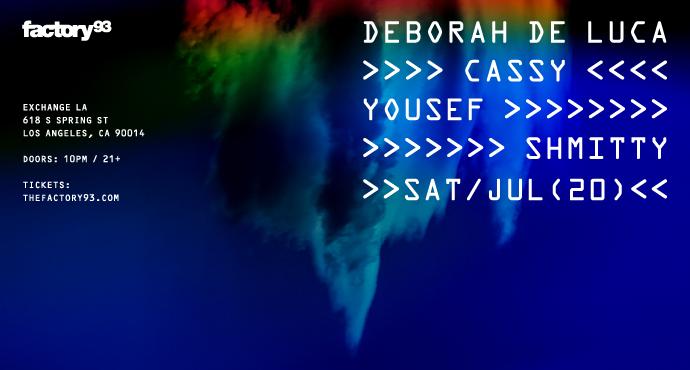 Deborah De Luca, Cassy, & Yousef