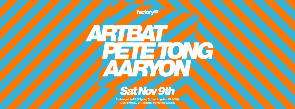 ARTBAT, Pete Tong, & Aaryon