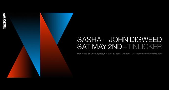 Sasha & John Digweed with Tinlicker