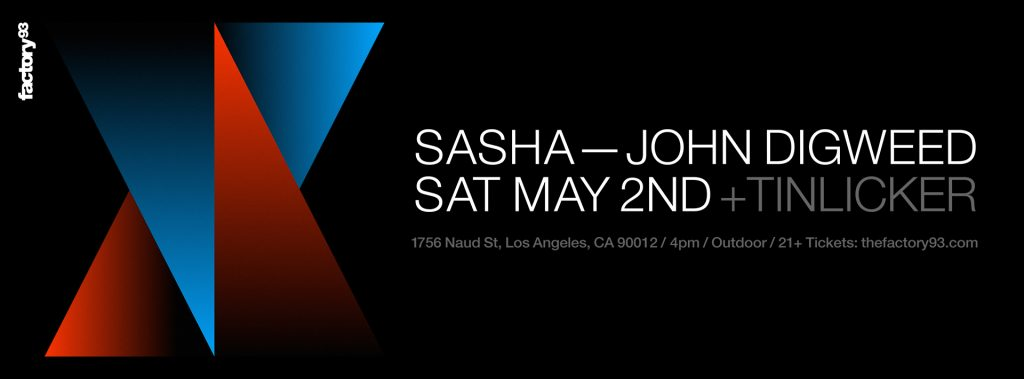 Sasha & John Digweed with Tinlicker