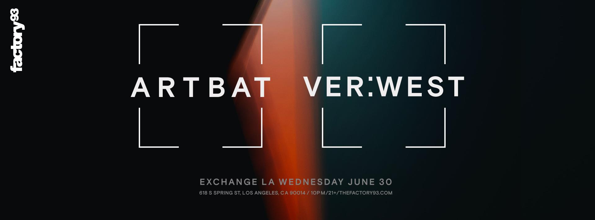 ARTBAT & VER:WEST