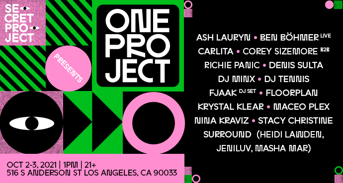 Secret Project presents One Project