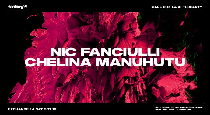 Nic Fanciulli & Chelina Manuhutu