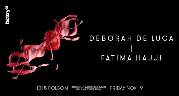 Deborah De Luca & Fatima Hajji